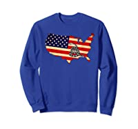 Gadsden Flag Snake Shirt -on Don't On Me Tread T-shirt T-shirt Sweatshirt Royal Blue