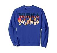 Funny Political Humor Murica Trump Hillary Great Election T Shirt Sweatshirt Royal Blue