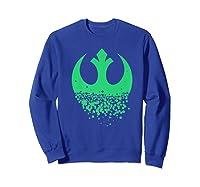 Star Wars Saint Patrick S Day Rebel Alliance Premium Ts Shirts Sweatshirt Royal Blue