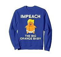 Trump Sucks Shirt Impeach Trump Shirt Sweatshirt Royal Blue