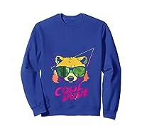 Cool Bear Fun Party Costume Cute Easy Animal Halloween Gift Shirts Sweatshirt Royal Blue