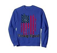 Trump Squad Pro Trump Conservative Republican Election Cycle T Shirt Sweatshirt Royal Blue