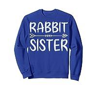 Cute Rabbit Sister Shirt I M Going To Be A Sister T Shirt Sweatshirt Royal Blue