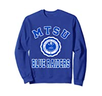Middle Tennessee State 1911 University Apparel T Shirt Sweatshirt Royal Blue