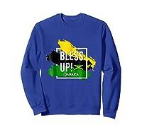 Bless Up N Pride Yaadie T Shirt Walk Good Everyday Sweatshirt Royal Blue