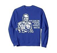 Military Veteran Mattis For President 2020 Election T Shirt Sweatshirt Royal Blue