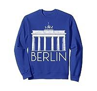 Berlin Shirt For Girls  Sweatshirt Royal Blue
