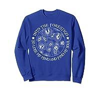 Gardens T Shirt Losing My Minds And Finding My Souls T Shirt Sweatshirt Royal Blue