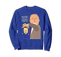 Putin S Puppet Donald Trump Anti Trump Impeach Trump Gift Premium T Shirt Sweatshirt Royal Blue