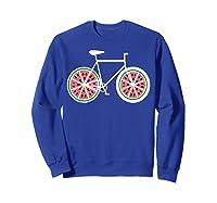Fixie Single Speed Watermelon Bicycle T Shirt Gift Sweatshirt Royal Blue