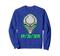 Storm Area 51 See Them Aliens Raid Ufo Cant Stop Us All Shirts Sweatshirt Royal Blue