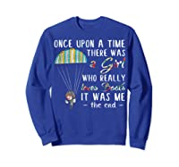 Once Upon A Time There Was A Girl Who Really Loves Books Ts Shirts Sweatshirt Royal Blue