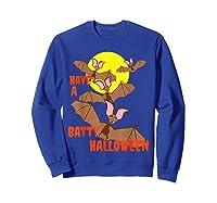 Have A Batty Halloween Happy Halloween Shirts Sweatshirt Royal Blue