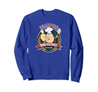 Champion Of Breakfast T Shirt Breakfast Of Champions Sweatshirt Royal Blue