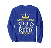 Kings Are Named Reed Shirts Sweatshirt Royal Blue