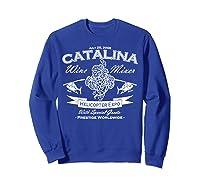 Catalina Wine Mixer Gifts Shirts Sweatshirt Royal Blue