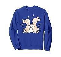 Family Rabbit Baby Bunny Sweet Family Shirt T Shirt Sweatshirt Royal Blue
