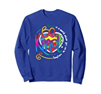 In A World Where You Can Be Anything Be Kind Autism Premium T-shirt Sweatshirt Royal Blue