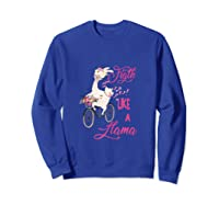 Floral Breast Cancer Awareness Month Figth Tank Top Shirts Sweatshirt Royal Blue