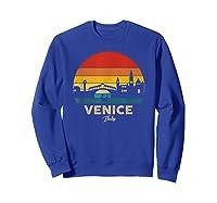 Vintage Venice T Shirt Italy Souvenir T Shirt Sweatshirt Royal Blue