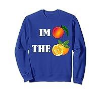 Impeach The Orange Not This President Anti 45th T Shirt Sweatshirt Royal Blue