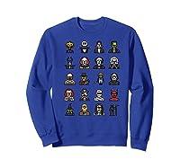 Friends Cartoon Halloween Character Scary Horror Movies Premium T Shirt Sweatshirt Royal Blue