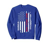 Best Uncle Ever T Shirt American Flag Fathers Day Gift  Sweatshirt Royal Blue