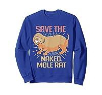Naked Mole Ra Shirts Sweatshirt Royal Blue