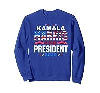 Kamala Harris For President 2020 Patriotic Election Gift Shirts Sweatshirt Royal Blue