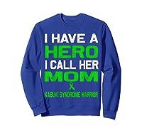 Kabuki Syndrome Warrior Shirts Sweatshirt Royal Blue