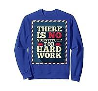 Happy Labor Day Hard Worker Cool Employee Gift Back Print T-shirt Sweatshirt Royal Blue