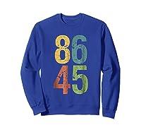 8645 T Shirt Impeach Trump Sweatshirt Royal Blue