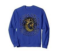 July Girl The Soul Of A Mermaid Tshirt Funny Gifts Premium T Shirt Sweatshirt Royal Blue