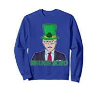 Bernie Sanders 2020 T Shirt St Patricks Day Irish Leprechaun Sweatshirt Royal Blue