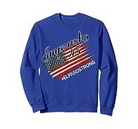 El Paso Strong Impeach Trump 45 Anti President American Map Shirts Sweatshirt Royal Blue