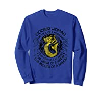 October Woman The Soul Of A Mermaid T Shirt Gift For  Sweatshirt Royal Blue