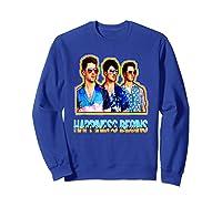 Happiness Begins Tour Music T Shirt Cool Jonas Shirt T Shirt Sweatshirt Royal Blue