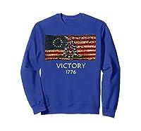 Gadsden B Ross Flag Snake Flag Us American Flag Gift Fan Shirts Sweatshirt Royal Blue