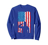 Veteran S Day Patriotic Usa Flag We Salute You Veterans T Shirt Sweatshirt Royal Blue
