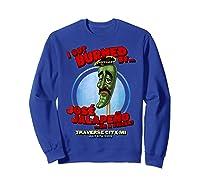Jose Jalapeno Traverse City Mi T Shirt Sweatshirt Royal Blue