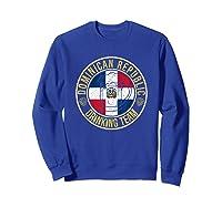 Funny Beer Dominican Republic Drinking Team Casual T-shirt Sweatshirt Royal Blue