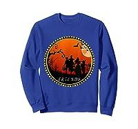 Friends Horror Scary Halloween T Shirt For  Sweatshirt Royal Blue