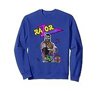 Wwe Nerds - Razor Ramon T-shirt Sweatshirt Royal Blue