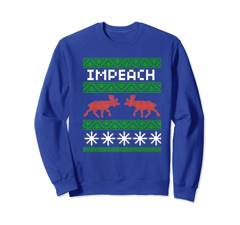 Impeach Christmas T Shirt Anti Trump Tee Crewneck Sweater