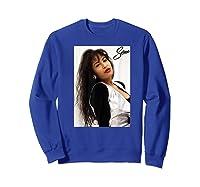 Selenas Vintage Distressed Classic Shirts Sweatshirt Royal Blue