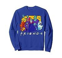 Friends Halloween Horror T Shirt Sweatshirt Royal Blue