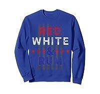 Red And Trump Usa Flag 2020 Election Donald Trump Shirts Sweatshirt Royal Blue