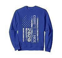 Competence 2020 American Flag Tshirt President Election Tee Sweatshirt Royal Blue