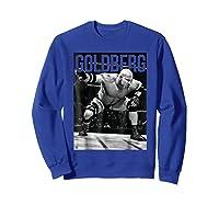 Bill Goldberg Iconic Graphic Shirts Sweatshirt Royal Blue