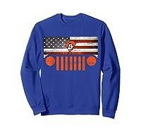 Oklahoma State Cow Nation Flag Apparel T Shirt Sweatshirt Royal Blue